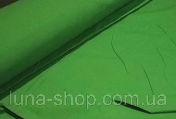 Простынь на резинке ярко-зеленая из бязи, любые размеры, с наволочками и без