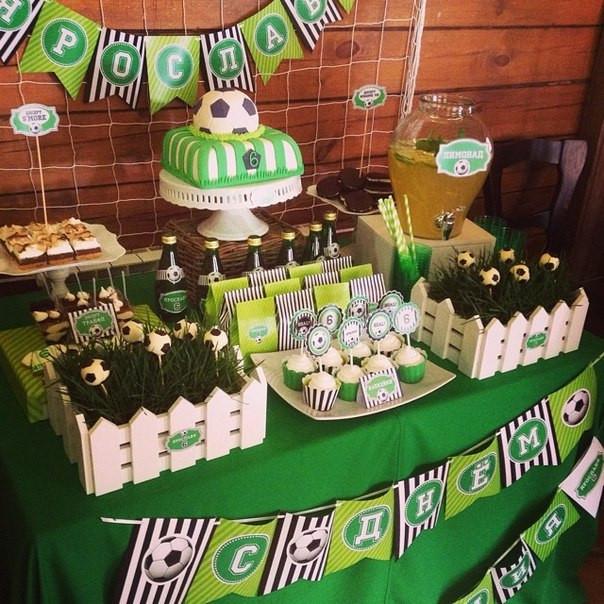 Кэнди бар (Candy Bar) в стиле футбол