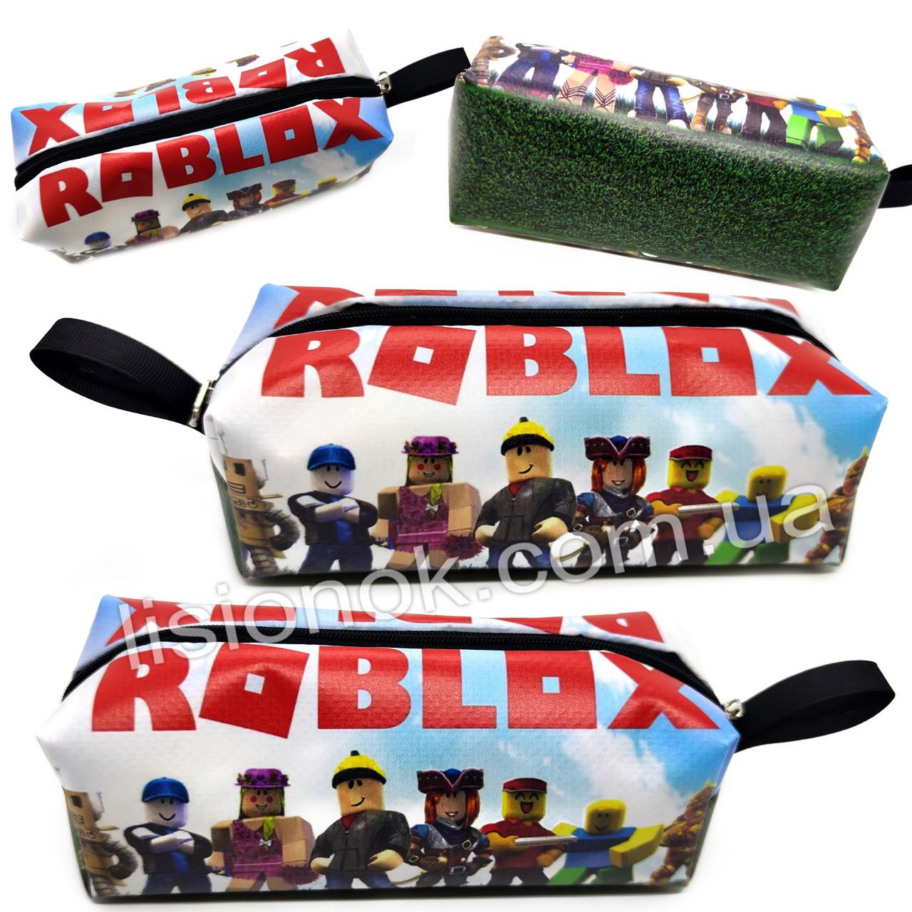 Пенал Роблокс для стильных и увлеченных игрой Roblox детей и подростков