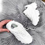 Кроссовки женские Liam белые ЗИМА 2723, фото 8