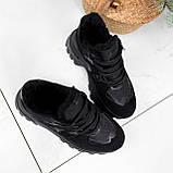 Кроссовки женские Mason черный ЗИМА 2724, фото 7