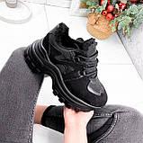 Кроссовки женские Mason черный ЗИМА 2724, фото 8