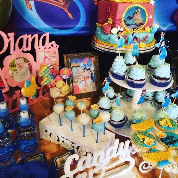 Кенди бар (Candy bar) тематика Аладин