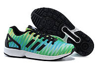 Кроссовки мужские Adidas Originals ZX 8000 Flux (адидас) зеленые