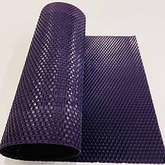 Цветная вощина для изготовления свечей, лист 41х26 см, темно-фиолетовый