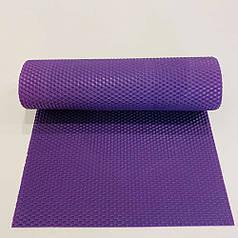 Цветная вощина для изготовления свечей, лист 41х26 см, фиолетовая