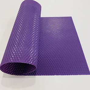 Кольорова вощина для виготовлення свічок, лист 41х26 см, фіолетова, фото 2