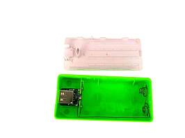 Корпус power bank. 5 В 1.0 A бокс на 1X18650 світлодіодний індикатор Зовнішній Зарядний Пристрій