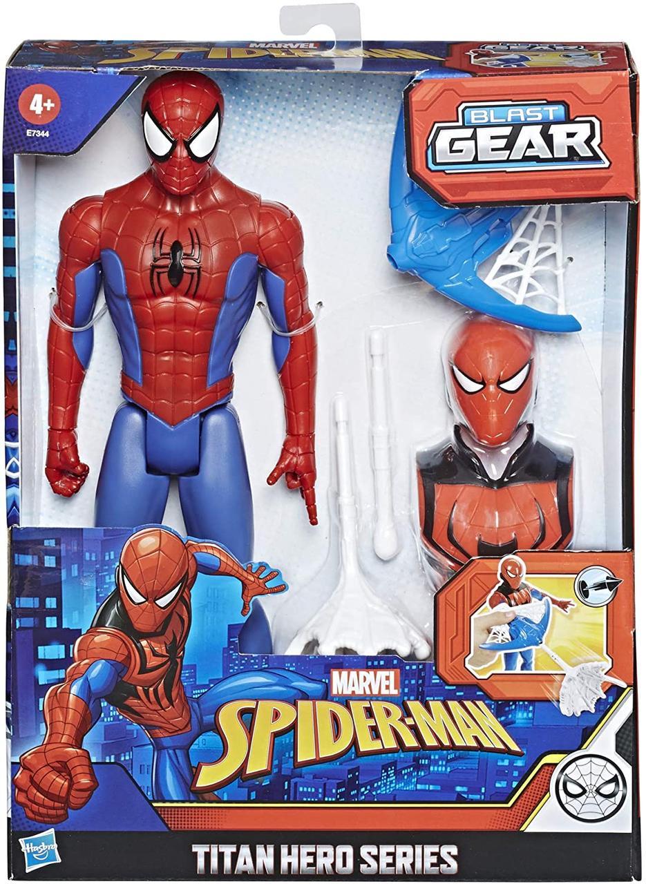 Фігурка Людина Павук Титан, Спайдермен 30 см зі зброєю Titan Hero, Hasbro