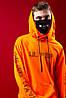 Худи Lil Peep Orange оранжевое, унисекс (мужское, женское), фото 3