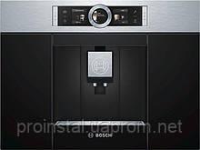 Встраиваемая кофемашина Bosch CTL636ES1 -19Бар/1600Вт/дисплей/нерж. сталь - черный
