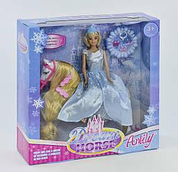 Кукла Anlily верхом на лошади 99106 в коробке, Jia Yu Toy Trade Co LTD