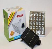 Лампа с аккумулятором и солнечной панелью GD-025 Код GD 025