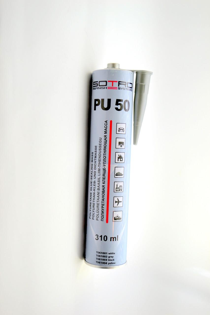 Герметик полиуретановый SOTRO PU-50 черный 310ml
