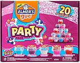 """Большой набор готовых слаймов  ELMERS c разными добавками """"Играй и Смешивай"""" Оригинал из США, фото 2"""