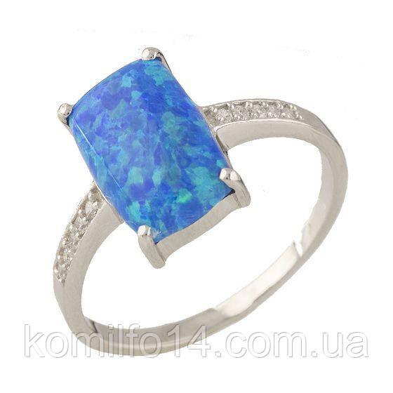 Серебряное кольцо с благородным опалом
