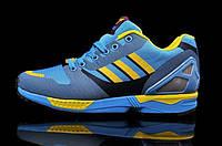 Кроссовки мужские Adidas Originals ZX 8000 Flux (адидас) голубые