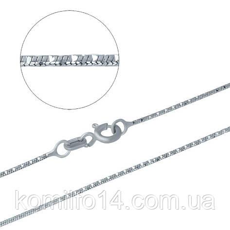 Серебряная цепочка 40см., фото 2