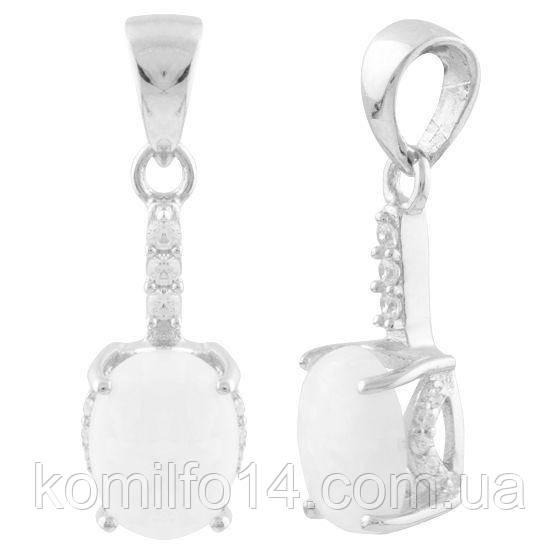 Серебряная подвеска Komilfo с опалом 1.12ct (1632949)