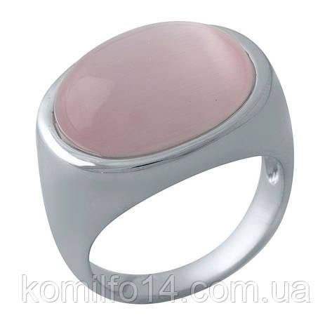 Срібне кільце  з кошачим оком , фото 2