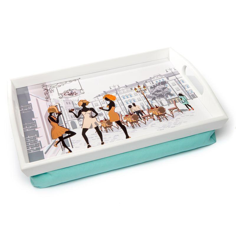Поднос на подушке с ручками 040055