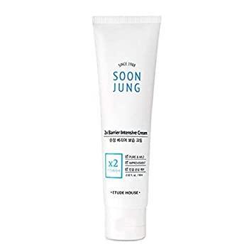 Интенсивно-восстанавливающий крем для сухой кожи ETUDE HOUSE Soon Jung 2x Barrier Intensive Cream 60 мл