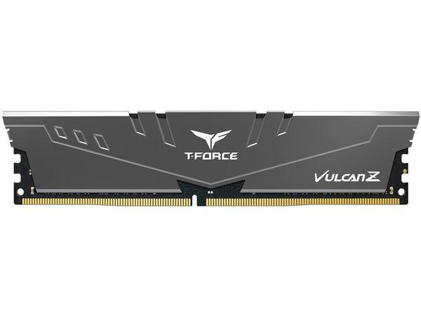 Модуль памяти DDR4  8GB 3200 Team Vulcan Z Grey C16-18-18-38 (TLZGD48G3200HC16C01)