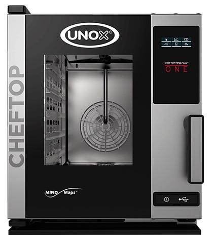 Пароконвекционная печь профессиональная Unox XECC0523E1R