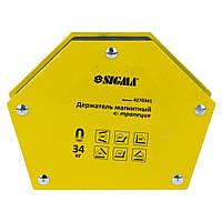 Магнит для сварки трапеция 34кг 105×65×65×45мм (30,45,60,75,90,135°) SIGMA (4270361), фото 1