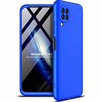 Чехол GKK 360 для Huawei P40 Lite бампер противоударный Blue