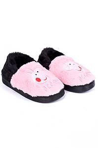 Тапочки комнатные детские розовые AAA 126556P