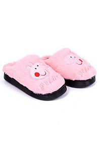 Тапочки комнатные детские светло-розовые AAA 126549P
