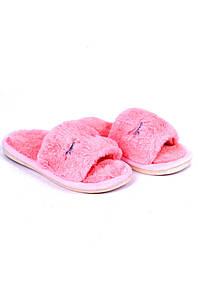 Шлепки комнатные девочка светло-розовые AAA 126667P