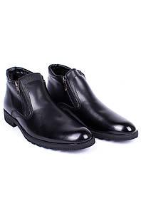 Ботинки зимние мужские черные 126570P