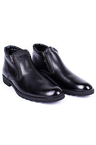 Ботинки зимние мужские черные 8781