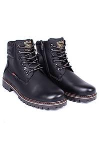 Ботинки зимние мужские черные 126571P