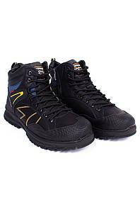 Ботинки зимние мужские черные 126572P