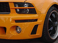 Ресницы Ford Mustang