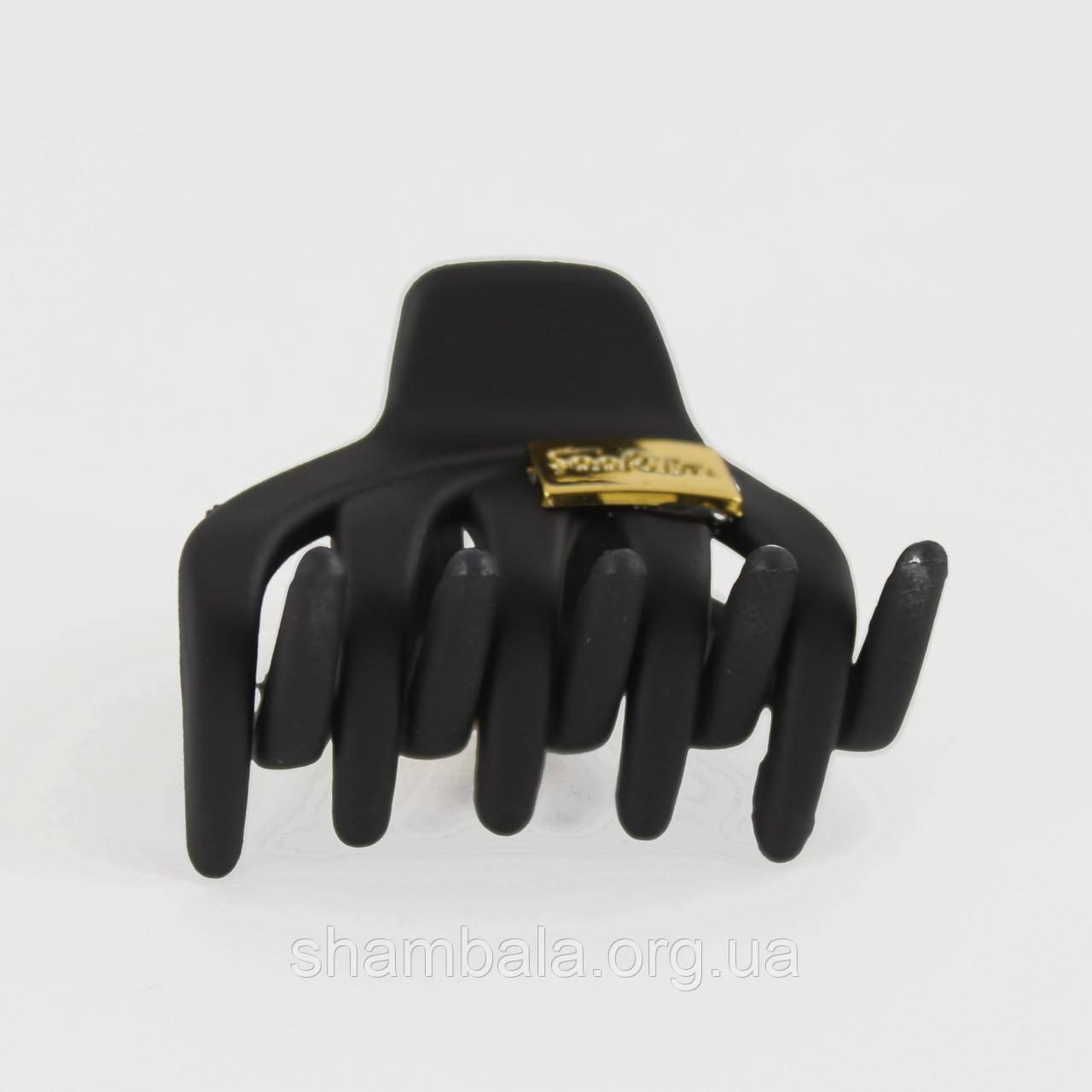 Шпилька Краб для волосся Чорна (08745)