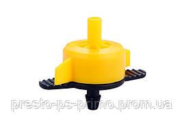 Капельница садовая Presto-PS компенсированная на 2 л/ч, в упаковке - 50 шт. (7751)