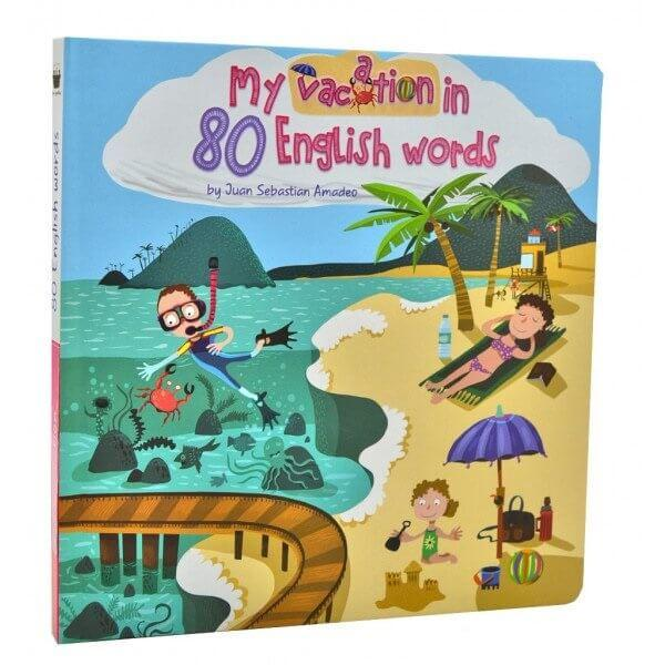 My vacation in 80 English words / Моя відпустка у 80 англійських словах