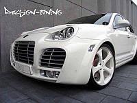 Ресницы Porsche Cayenne