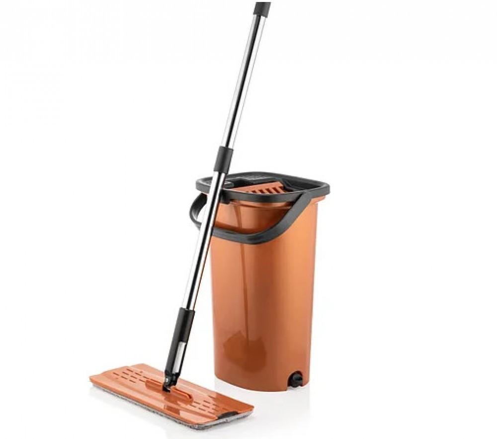 Набор для уборки Швабра МОП с ведром SMART URVE PLASTIK UR-3332