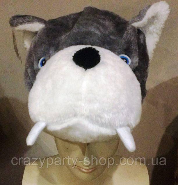 Шапка карнавальная Волк