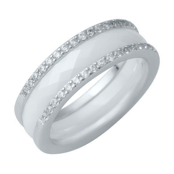 Серебряное кольцо DreamJewelry с керамикой (1214459) 18 размер