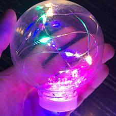 Светодиодная гирлянда лампочка лампочки Эдисона из 10 лампочек ретро лед led новогодние цветная разноцветная, фото 2