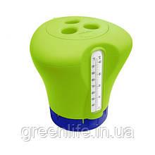 Kokido Дозатор Kokido K619BU (табл. 75 мм) зелений з термометром