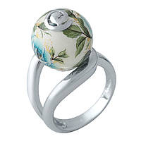 Серебряное кольцо DreamJewelry с емаллю (2003892) 18 размер, фото 1