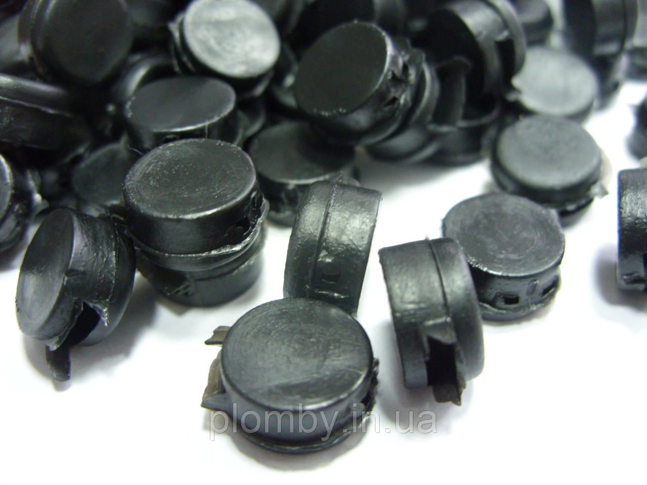 Полиэтиленовые пломбы, 2540шт,  10мм, от 312 грн./кг. ГОСТ 19133-73