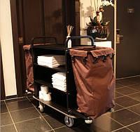 Тележка для уборки в гостиничных номерах